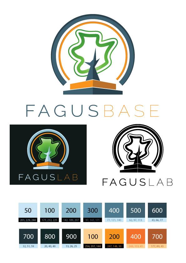 FAGUSBASE-logo + palette MDL